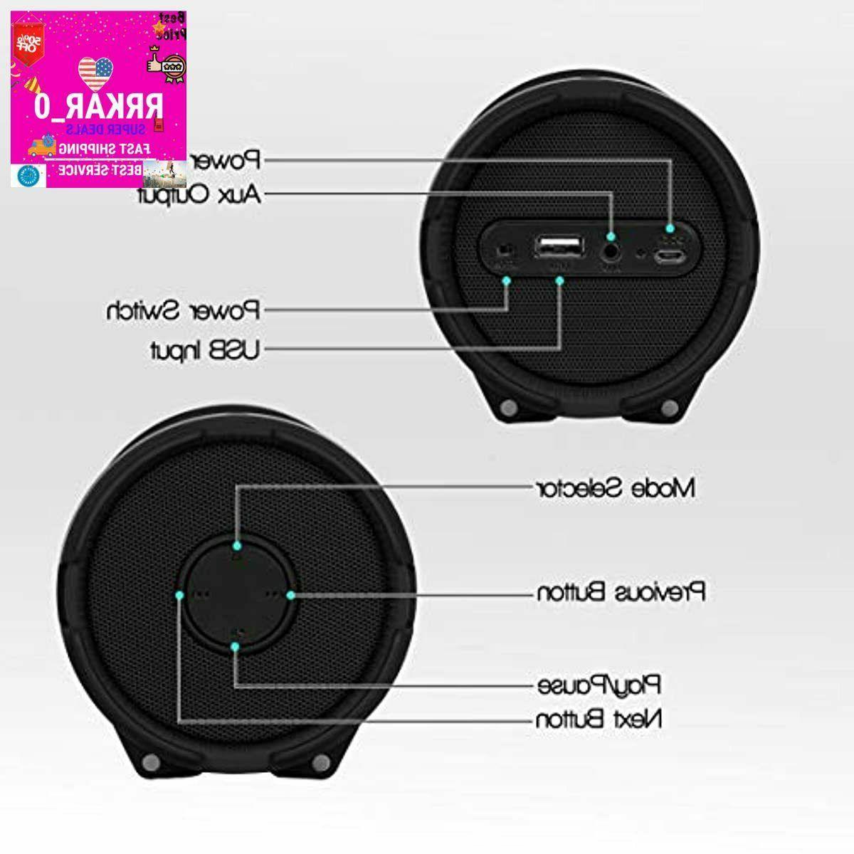 Loudest Bluetooth Speaker System Outdoor Loud Waterproof w/ Tune