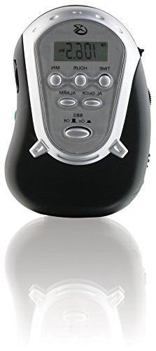 GPX Inc R300B Portable AM/FM Radio with Armband