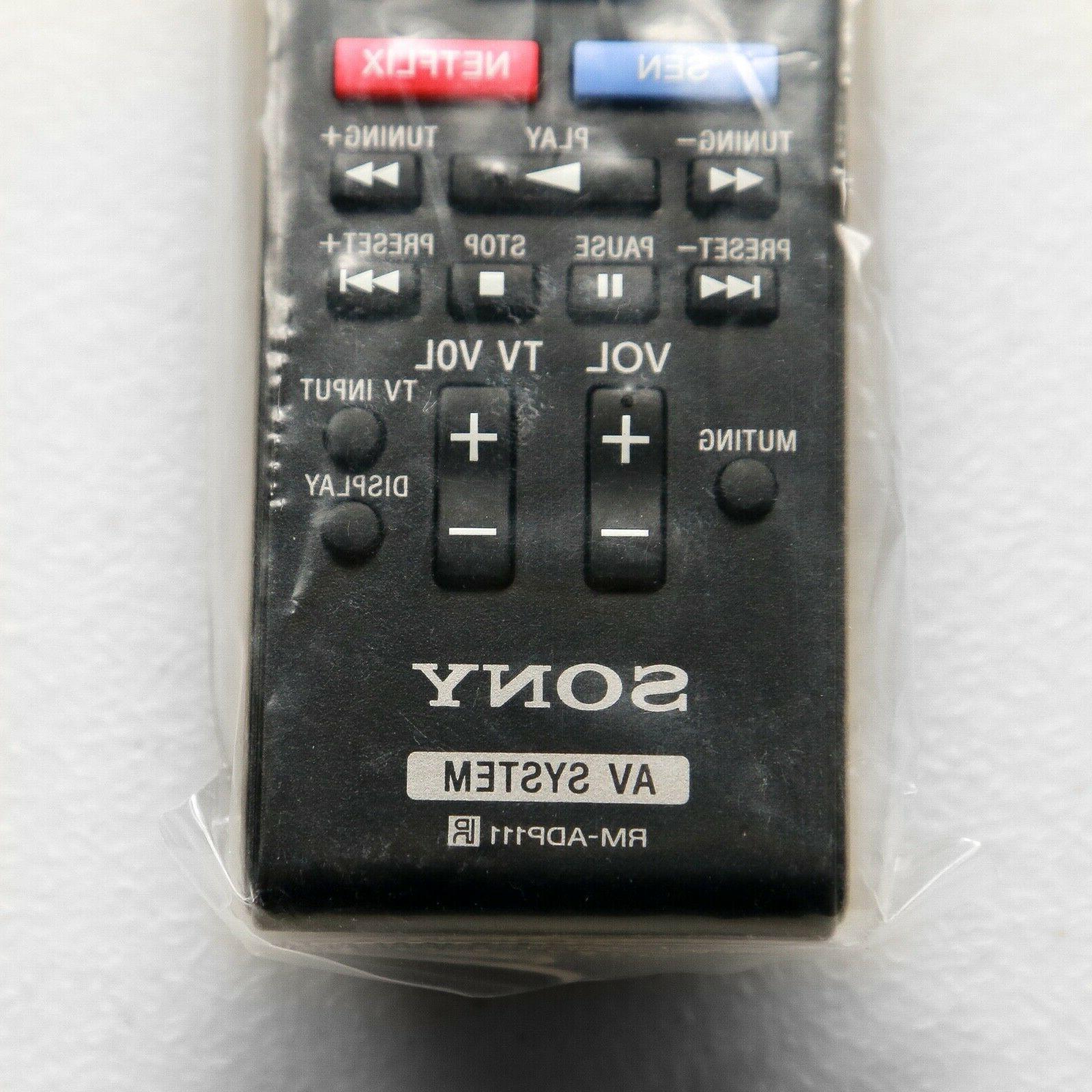 Sony control