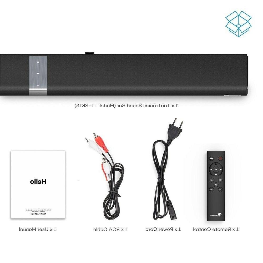 Soundbar Sound Wired and Wireless Audio Speaker