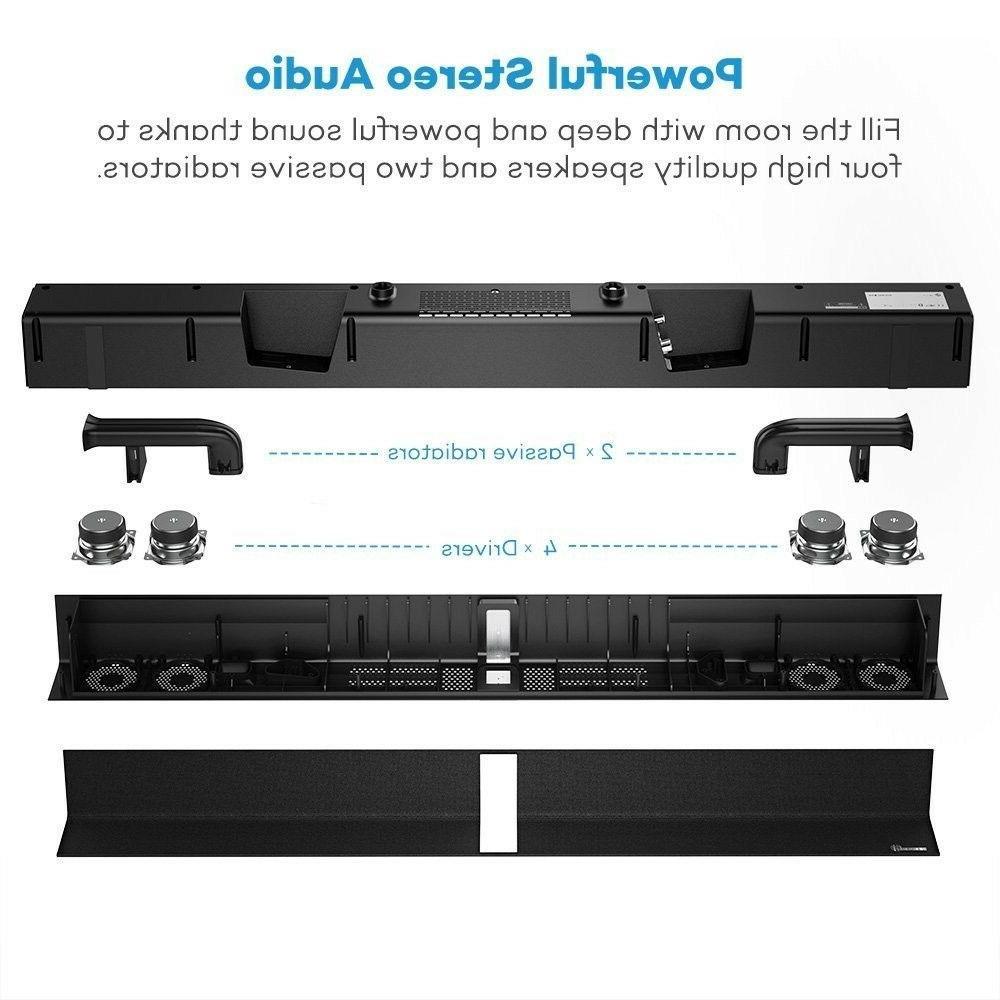 Soundbar Sound Bar Wired Wireless Audio