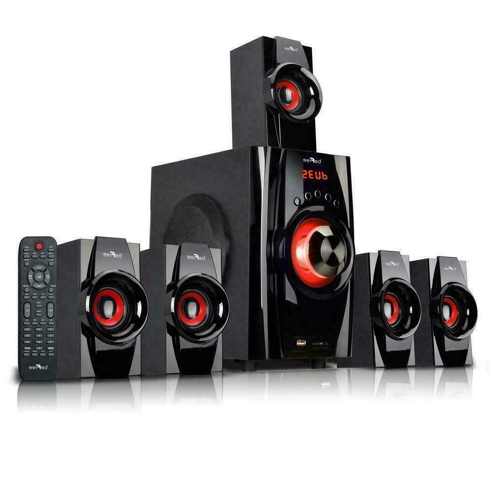 Surround Sound Speaker For Television Laptop PC 5.1 Bluetoot