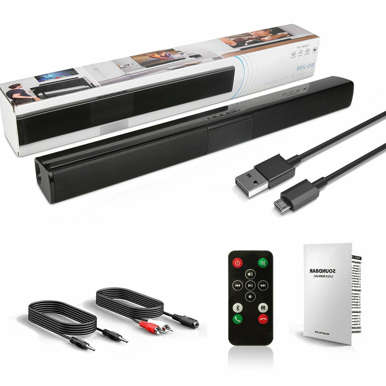 True Bluetooth Bar Home TV Speaker