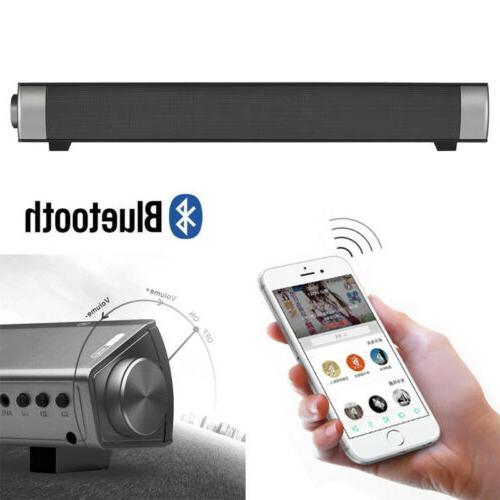 TV Sound Bar Wireless Subwoofer