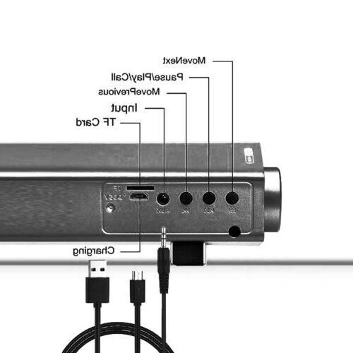TV HomeTheater Sound Speaker System Wireless Subwoofer