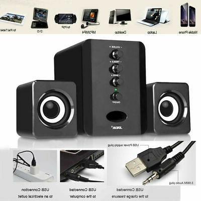 USB TV Speaker Sound Bar Soundbox