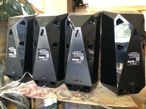 Sony Wireless Cinema System Speakers Surround 1000W