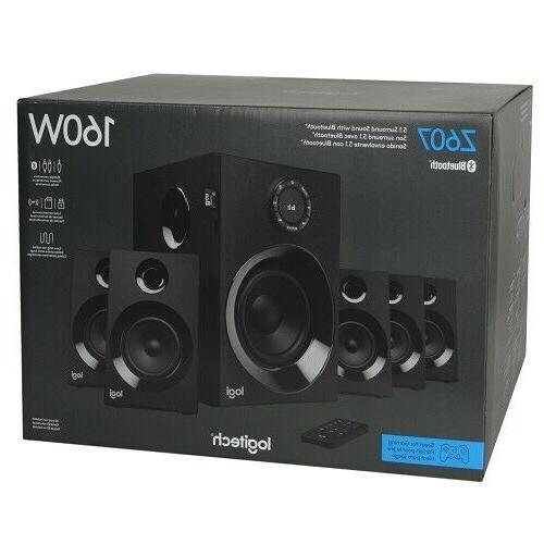 Logitech Z607 160W Wireless 5.1 Sound Speaker System w/Subwoo