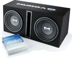 """MTX Magnum MB210SP Dual 10"""" Enclosure/Amp Combo"""
