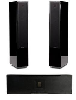 Martin Logan Motion 20 Black Floorstanding Speakers with Mot