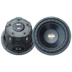 """Lanzar Maxp124d 12"""" Max Pro 1600w Car Audio Subwoofer Sub 16"""