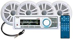 BOSS Audio MCK752WB.64 Receiver/Speaker Package, Bluetooth,