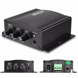 12V 30W Mini HiFi Stereo Amplifier Amp Booster Bass For MP3