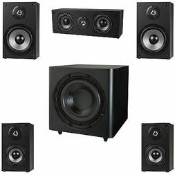 "NEW 5.1 Surround Sound Home Theater Speaker System.w/ 10"" Po"