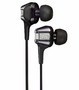 New! JVC HA-FXT200 Canal Type Earphone Hi-speed Twin System