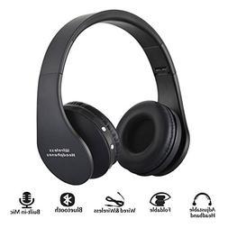 BGVIP New Over Ear Bluetooth Headset Wireless Hi-Fi Stereo S