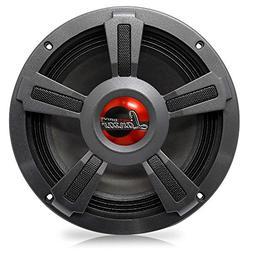 "Lanzar Upgraded 8"" High Performance Mid Bass - Powerful 80"