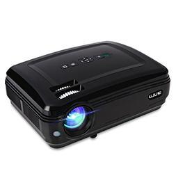 iRULU P5 Projector, Multimedia Home Theater Video Projector