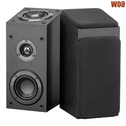 Pair 60W Satellite Speakers Immersive Audio Home Theater Sur