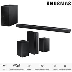 Samsung Panoramic Soundbar Black  with Samsung Wireless Rear