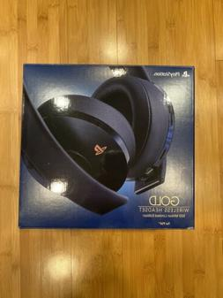 PlayStation Gold Wireless Headset 500 Million Limited Editio