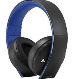PlayStation Gold Wireless Stereo Headset - Jet Black  *B