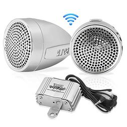 Pyle 300 Watt Weatherproof Motorcycle Speaker and Amplifier