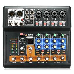 Portable 8 Channel Professional Live Studio Audio KTV Karaok