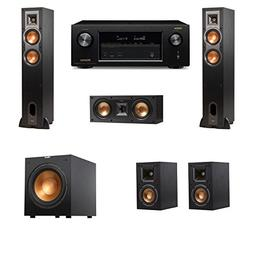Klipsch R-26F Floorstanding Speakers 5.1 R-12SW Denon AVR-X2