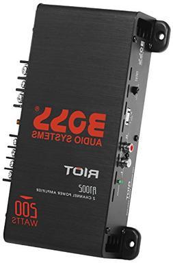 BOSS Audio R1002 - Riot 200 Watt, 2 Channel, 2/4 Ohm Stable