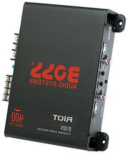 BOSS Audio R1004 - Riot - 400 Watt, 4 Channel, 2/4 Ohm Stabl