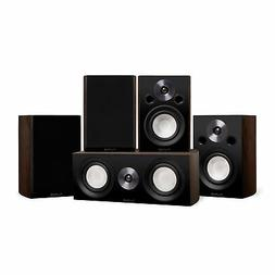 Reference Compact Surround Sound Home Theater 5.0 Speaker Sy