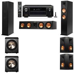 Klipsch RP-260F Tower Speakers-PL-200-5.2-Denon AVR-X4200W