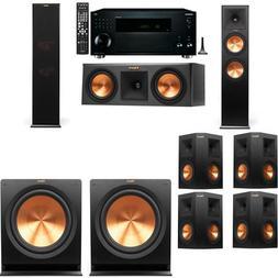 Klipsch RP-280F Tower Speakers-RP-250C-R-112SW-7.2-Onkyo TX-