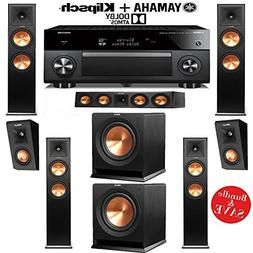Klipsch RP-280FA 5.2.2 Dolby Atmos Home Theater System with