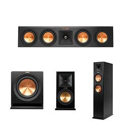 Klipsch RP-440C Center Channel Speaker Bundle with Powered M