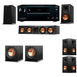 Klipsch RP-160M-E Monitor Speaker 5.2 R112SW Onkyo TX-NR656