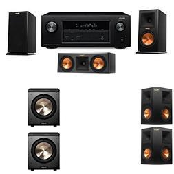 Klipsch RP-150M-E Monitor Speaker 5.2 PL-200 Denon AVR-X2100