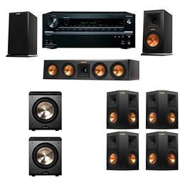 Klipsch RP-160M-E Monitor Speaker 7.2 PL-200 Onkyo TX-NR646