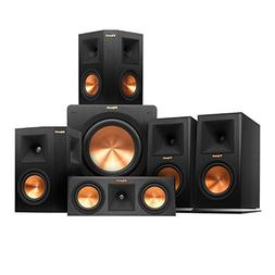 Klipsch RP-160M Home Theater System Bundle  with Yamaha RX-A