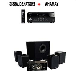 Yamaha RX-V585BL 7.2-Channel 4K Ultra HD AV Receiver + Energ