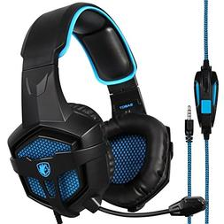 SADES SA807PLUS Stereo Gaming Headset Noise Cancelling Over