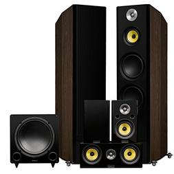 Fluance Signature Series Surround Sound Home Theater 5.0 Cha