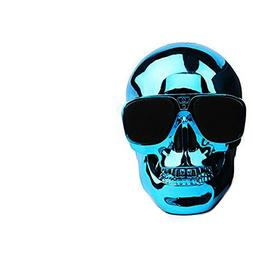Smileto Skull Portable Wireless Bluetooth speakers with HD S