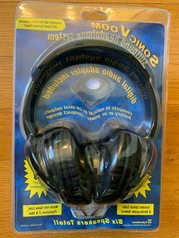 Sonic Voom Surround Headphone System CH-SRD 600R w/ Digital