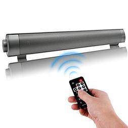 Sound Bar Bluetooth Wireless Speakers Small Soundbar 2.0 Cha