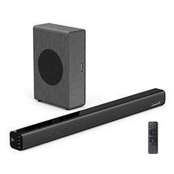 Soundbar with Subwoofer Wohome TV Sound Bar with Sub Wired a