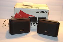 Aiwa Speaker System  model no. sx-r210 40 watts surround sou