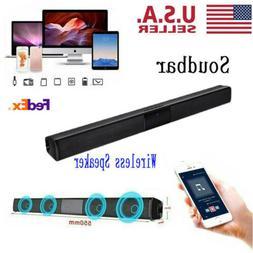 Surround Sound Bar Speaker System Wireless Subwoofer TV Home