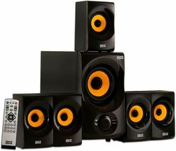 Surround Sound System For TV 4k Best 5.1 Bluetooth Home Full